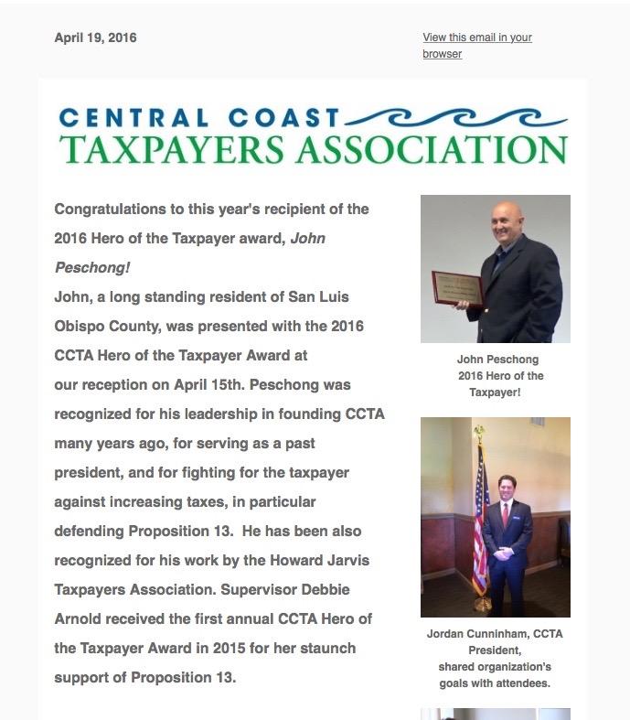 april 19 newsletter ccta